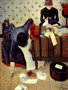 Fan account of Paul Signac, a French Neo-Impressionist painter who, working with Georges Seurat, helped develop the Pointillist style. Georges Seurat, Paul Signac, Images Vintage, Art Database, Art Moderne, Claude Monet, Art Plastique, Vincent Van Gogh, Art History