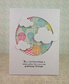 Fun floating clouds!  (Pin#1: Airplanes/ Air Balloons... Pin+: Peek-A-Boo...).