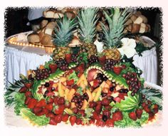 Gorgeous fruit display!