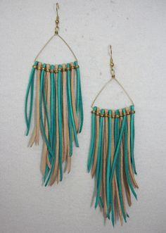 Love these simple DIY earrings!