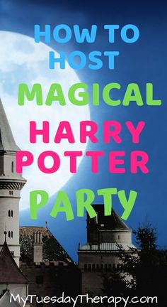Host a Magical Harry Potter Party On Small Budget. Easy activity ideas for Harry Potter Party for teens and kids. Simple ideas for decorating Hogwarts common rooms. Easy Party Games, Birthday Party Games For Kids, Teen Birthday, Birthday Party Themes, Harry Potter Party Games, Harry Potter Party Decorations, Harry Potter Birthday, Activities For Teens, Party Activities