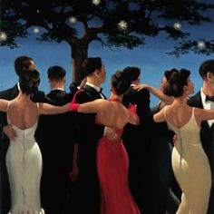 Jack Vettriano Waltzers painting is available for sale; this Jack Vettriano Waltzers art Painting is at a discount of off. Jack Vettriano, Stars D'hollywood, Illustration Art, Illustrations, Edward Hopper, Anime Comics, Love Art, Oeuvre D'art, Painting & Drawing
