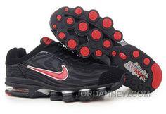 http://www.jordannew.com/mens-nike-air-max-shox-r4-shoes-black-red-lastest.html MEN'S NIKE AIR MAX SHOX R4 SHOES BLACK/RED LASTEST Only $85.75 , Free Shipping!