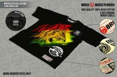 RASTA Reggae Lion T-shirt 100% Cotton  in Clothes, Shoes & Accessories, Men's Clothing, T-Shirts | eBay!