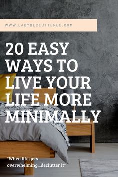 Simple Living has many definitions, identities, and representations, but there seems to be one common thing; having a simpler life will make life easier Minimalist Kids, Minimalist Quotes, Minimalist Lifestyle, Vie Simple, Simple Way, Minimal Living, Simple Living, Declutter Your Mind, Simple Quotes