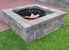 Allan Block: Courtyard - Nitterhouse Masonry Outdoor Firepit