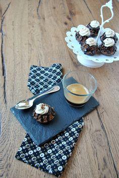 Mini Gugelhupf al caffè con crema al mascarpone