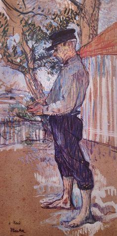 Henri de Toulouse-Lautrec, Paul Viaud à Taussat