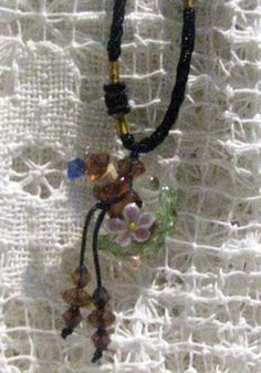 MESSAGE IN a BOTTLE Amber Baroque Fashion Silver by CarolinaMeme