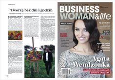 """W najnowszym magazynie """"Businesswoman & life"""" ciutkę tajemnic zdradzam"""