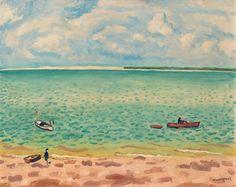 Albert Marquet - La plage, Le Pyla on MutualArt.com