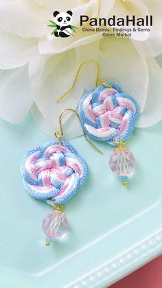 Bracelet Crochet, Bracelet Crafts, Jewelry Crafts, Macrame Jewelry Tutorial, Earring Tutorial, Handmade Beaded Jewelry, Diy Schmuck, Jewelry Making Tutorials, Diy Earrings