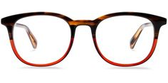 Durand Saddle Russet Eyeglasses