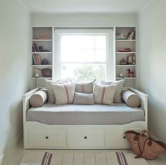 Comfortable Hemnes Daybed For Cozy Bedroom Design: Mid Century Modern Shelves With Hemnes Daybed 399.--