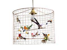 la petite voliere bird lamp shade