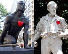 """Everyone deserves a heart. Ação """"Aqui Bate um Coração"""" - SP"""