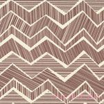 Alice Kennedy Matilda Chevron Mocha [TT-C1512-Mocha] - $8.95 : Pink Chalk Fabrics is your online source for modern quilting cottons and sewing patterns., Cloth, Pattern + Tool for Modern Sewists