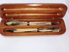 Ballpoint pen and mechanical pencil set in a beautiful wooden gift box. Dressed in nature's finest spalted beech - Gifts box ideas, Gifts for teens,Gifts for boyfriend, Gifts packaging Wooden Gift Boxes, Wooden Gifts, Stationary Shop, Tiny Gifts, Mechanical Pencils, Gifts For Teens, Ballpoint Pen, Wood Turning, Boyfriend Gifts