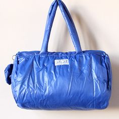 LaTIQUE, New Wave Duffel bag {1980's} Did anyone else remember these bags??