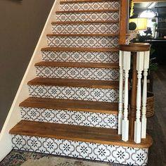 Vinyl Floor Tile Sticker Floor decals Carreaux Ciment   Etsy