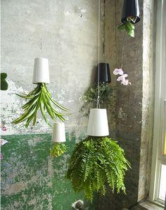 Upside Down Gardening: Sky Planter by Patrick Morris