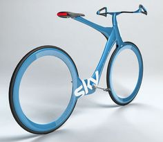 Olympic cyclist Chris Boardman's concept for an everyday city bike of the future.