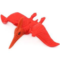 Red pteranodon eraser by Iwako from Japan 1