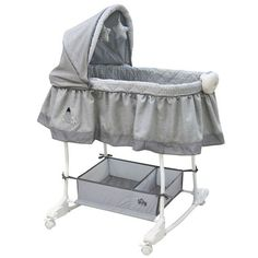 Buy Couchette berçante Bily - Chevron gris for CAD Chevron Gris, Soft Toy Storage, Large Storage Baskets, Baby Clothes Online, Baby Online, Storing Baby Clothes, Baby Club, Moise, Toys R Us Canada