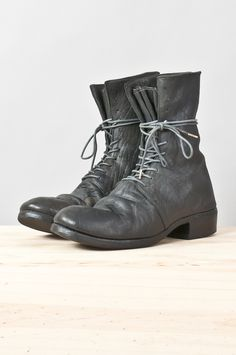 oiled cordovan lace-up boot — re. porter