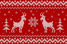 Check out Norvegian knit with goats for 2015 by Art-of-Sun on Creative Market