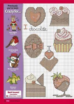 Cross Stitch Crazy 185 (January 2014) - Crazy for...Chocolate  1/2