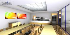 Restaurant / Servery Design, 3D Visuals – by Space Catering