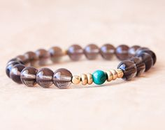 Buddhist Mala Bracelet Mantra Bracelet Yoga by MishkaSamuel