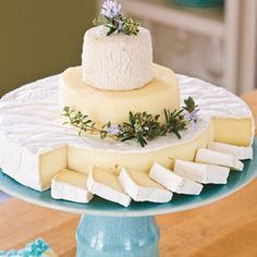 "Cheese ""cake"" -Southern Living wedding shower"