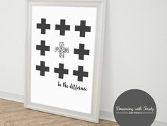 Be the Difference Print A4 un-framed print