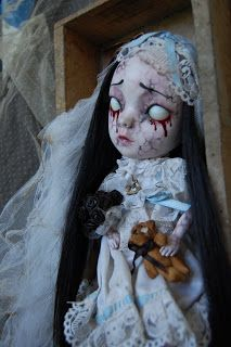 Sally's Song Dolls - Post mortem Mariel