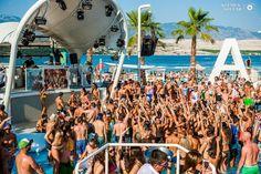 Fotos aus dem Club Zrce Beach (Novalja / Insel Pag) im Sommer 2014. Freundlicherweise zur Verfügung gestellt von Klemen Stular. Get ready for Zrce 2015 #croatia