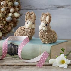 Gisela Graham Bristle Bunny Ornament - £5.00 - A great range of Gisela Graham Bristle Bunny Ornament gifts and homewares from The Contemporary Home Online Shop