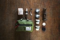 Coffee kit. Velo Coffee kickstarter reward
