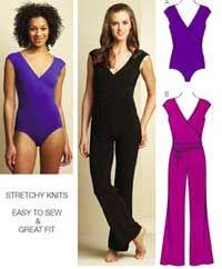 Misses Leotard and Unitard Kwik Sew Sewing Pattern No. 3671