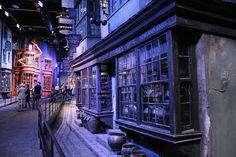 Inside the Harry Potter Studio, London