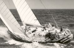 My all-time favorite S&S design, Running Tide was a classic 1970 build IOR yacht. Sailed on her twice, great boat especially in heavy weather.