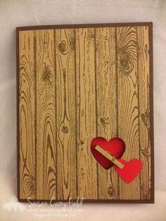 Hardwood Valentine With Hearts A Flutter Framelits3-imp