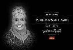 Perginya Maznah Hamid Iron Lady yang dikagumi   KUALA LUMPUR: Rabu 6 petang Malaysia kehilangan seorang tokoh wanita yang menjadi idola ramai kaum hawa tidak kira usia.  Dikenali sebagai Iron Lady Datuk Dr Maznah Hamid 62 menghembus nafas terakhir di Institut Jantung Negara (IJN) selepas dilaporkan mengalami komplikasi injap di bahagian jantung yang mengeras akibat kalsium yang berlebihan.  Pengerusi Eksekutif Kumpulan Securiforce Sdn Bhd itu dilahirkan pada 18 April 1955 di Ayer Hitam…