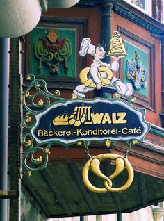 shop sign in Stein am Rhein, Switzerland