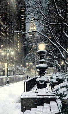 Winter's Night, New York City