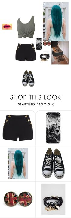 """""""I'm so done with school and it's only week 18 of 34"""" by thissillykitty ❤ liked on Polyvore featuring Boutique Moschino, Casetify, Converse and ASOS"""