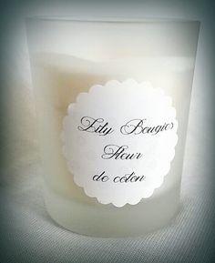 Bougie végétale parfum Fleur de coton par LilyBougies sur Etsy