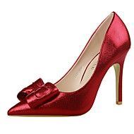 Women's+Shoes+Stiletto+Heel+Heels+/+Pointed+Toe+/...+–+EUR+€+32.33 High Heels Stilettos, Stiletto Heels, Pumps, Golden Dress, Dress And Heels, Red And Pink, Christian Louboutin, Peep Toe, Womens Fashion