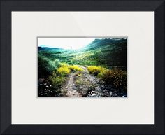 """""""yorubatrail"""" by Valeria Watson, Asheville // Yoruba Basin Trail // Imagekind.com -- Buy stunning fine art prints, framed prints and canvas prints directly from independent working artists and photographers."""